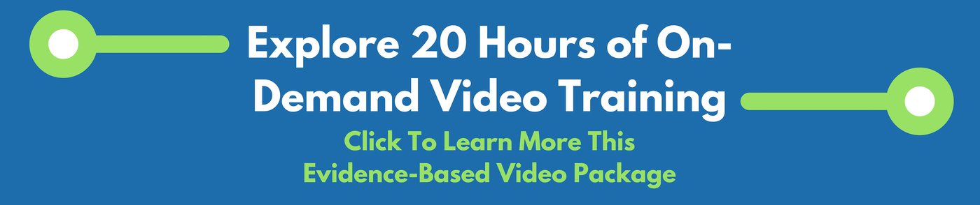 online video training for evidence based practice